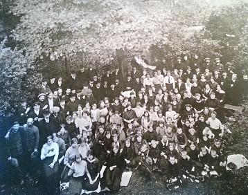 Belgische vluchtelingen in Oud-Beijerland, 1914 (particuliere collectie)